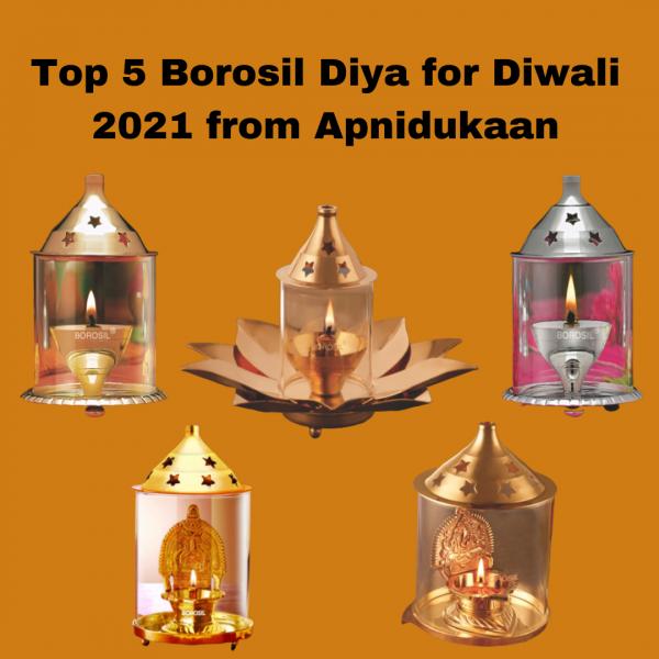 Top 5 Borosil Diya for Diwali 2021 from Apnidukaan